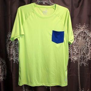 TRUNKS SURF & SWIM CO Shirt Top UPF 50+ Neon XL